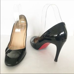 Charistian Louboutin Patent Leather Pumps Heels
